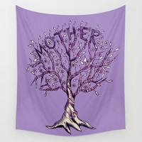 Mother Wall Tapestry by ES Creative Designs