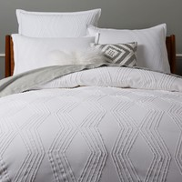 Organic Rolling Dot Duvet Cover + Shams
