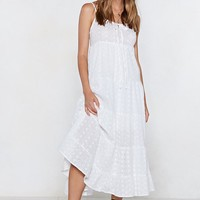 Threads or Tails Broderie Dress