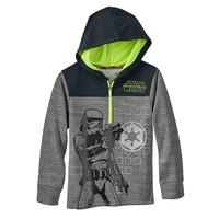 Star Wars a Collection for Kohl's Stormtrooper Quarter-Zip Hoodie - Boys 4-7x, Size: