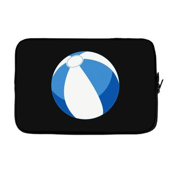 Blue Beachball Baby Boy Laptop sleeve