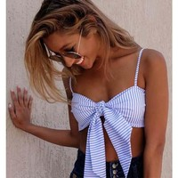 Tie It With A Bow Crop Top