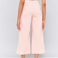 BDG Flood Wide Leg Pink Corduroy Jeans | Urban Outfitters