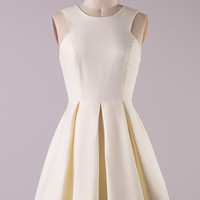 Tea Cup Dress  - Cream