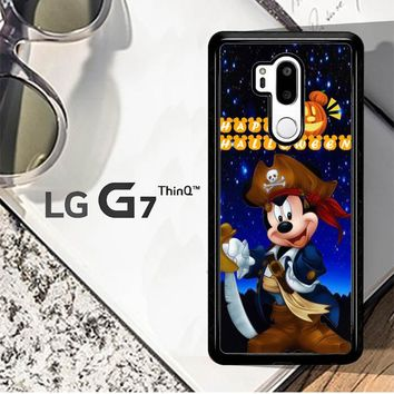 Mickey Mouse Halloween D0062 LG G7 ThinQ Case