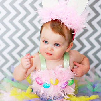 Tutu Dress, Easter Tutu, Easter Dress, Pastel Tutu, Outfit of Choice, Easter Eggs, 3m, 6m, 9m, 12m, 18m, 24m