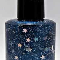 All of Time and Space - Custom Doctor Who Inspired Glitter Nail Polish