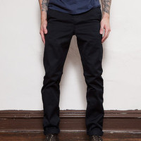 Left Field NYC — Navy Japanese Military 10 oz. Twill Tailored Chinos