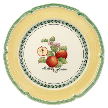 French Garden Apple Dinner Plate, Dinner Plates