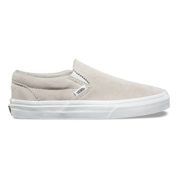 Pinked Suede Slip-On | Shop At Vans