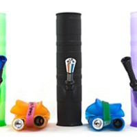 Roll-uh-Bowl Water Pipe Green