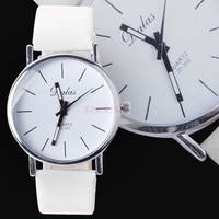 2014 New Fashion Watches Men's/Women's Analog Quartz Synthetic Leather Band Wrist Watch SV003672_W_26601 Wristwatch = 1745658564