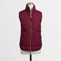 Factory quilted puffer vest - Outerwear - FactoryWomen's Outerwear & Blazers - J.Crew Factory