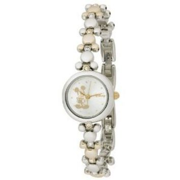 Disney Mickey Mouse Women's MCK313 Two-Tone Link Bracelet Watch
