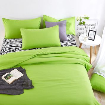 Summer Bedding Sets  with Zzebra Stripes