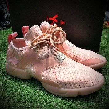 ONETOW Best Online Sale Fashion Yohji Yamamoto Y-3 KOHNA SNEAKERS Pink Sport Shoes