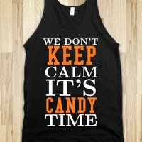 IT'S CANDY TIME HALLOWEEN TANK TOP TSHIRT TEE T SHIRT SHIRTS