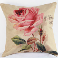 Flower Pillow Cushion