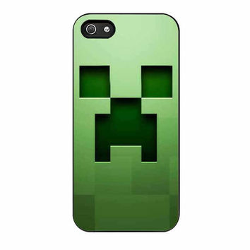 creeper minecraft cases for iphone se 5 5s 5c 4 4s 6 6s plus