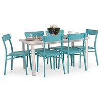 Newport Beach Outdoor Dining/Pub - Turquoise