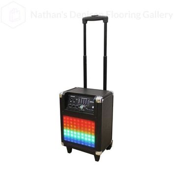 Craig Tower Speaker System With Decorative Color Changing Lights Tube/Speakers and Bluetooth Wireless Technology