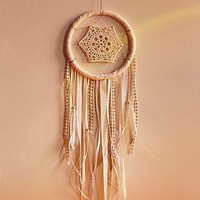 Free People x Catherine Womens All White Pretty Dreamcatcher