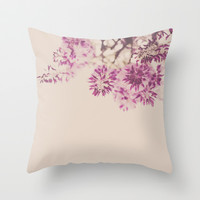 Purple Dreams Throw Pillow by Hello Twiggs