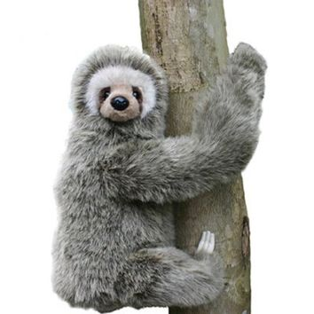 Hansa Three Toed Sloth Plush