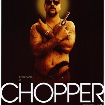 Chopper 27x40 Movie Poster (2001)