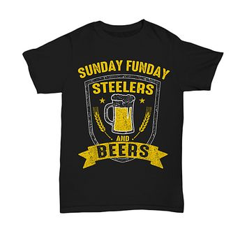 Sunday Funday Pittsburgh Football Beers T-Shirt
