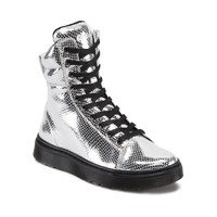 Womens Dr. Martens Mix Boot, Silver | Journeys Shoes