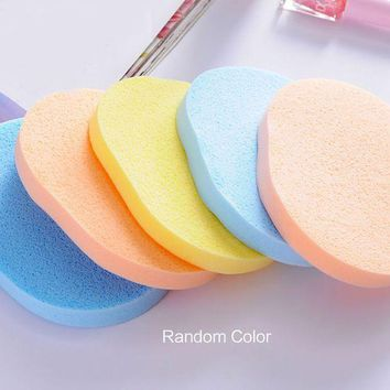 ESBON High Quality 1 Pc Seaweed Cleansing Flutter  Makeup Puff Seaweed Wash Puff  Beauty Wash Your Face Make Up Sponge Pad