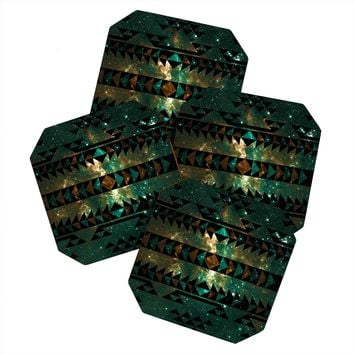 Caleb Troy Gatsby Dust Tribal Coaster Set