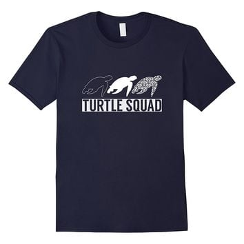 Funny Turtle Squad - Sea Turtles T-shirt