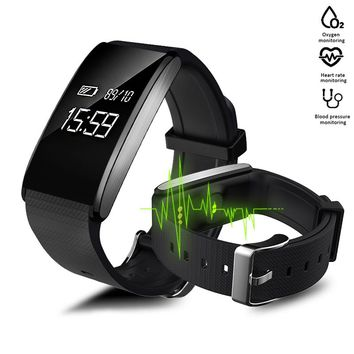 Smart Watches Blood Pressure Fitness Bracelet Pulsometer Fitness Watch Pedometer Vibration Smart Band Pedometre pk Fitbits