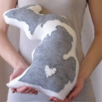 Customizable Michigan State Pillow