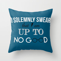 Harry Potter Throw Pillow by hayimfabulous