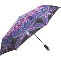 Galleria Tiffany Dragonfly Folding Umbrella:Amazon:Clothing