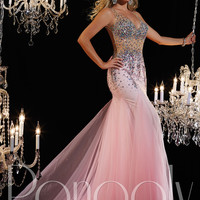 Deep Sweetheart Neckline Formal Prom Dress Panoply 14612