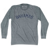Bahamas City Vintage Long Sleeve T-shirt