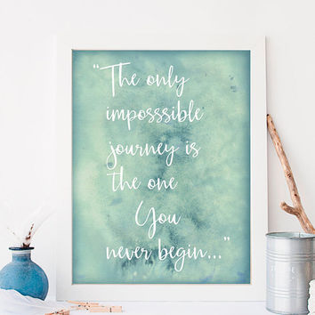 Printable Art For Her, Quote Art Gift For Girlfriend, Printable Women Gift, Watercolor Quote Paintings, Gift For Her, Instant Download