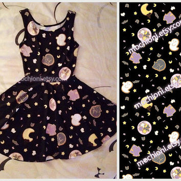 Pre-Order! (some sizes in stock!) Spooky Cookie dress *Halloween SALE PRICE*