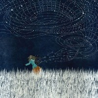 The Stars Are Against Me Tonight by dkim on Etsy