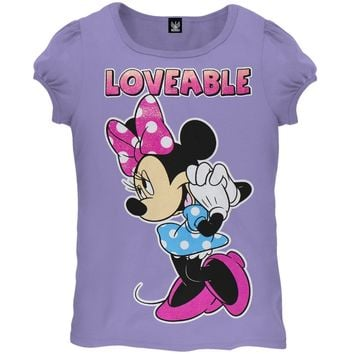 Minnie Mouse - Loveable Juvy Girls T-Shirt