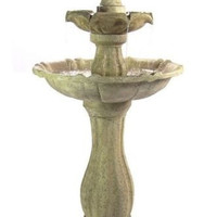 2 Tier Solar Fountain With LED