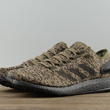 AUGUAU A268 Adidas Ultra Boost SE Pure Casual Sports Running Shoes Black Gold