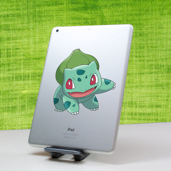 Bulbasaur pokemon decal sticker for Nintendo 3DS XL, 3DS, iPad, MacBook and all other devices! ma033