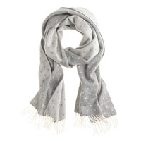 J.Crew Womens Collection Cashmere Scarf In Dot