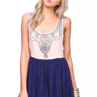 EMBROIDERED PLEATED ROMPER