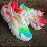 Sale Nike Air Huarache 1 Multicolor Men Women Hurache Running Sport Casual Shoes Sneakers - 11